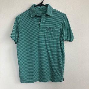 Vineyard Vines striped short sleeve polo shirt